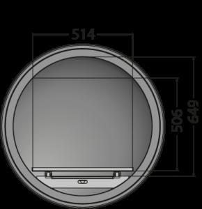Diameter 740mm